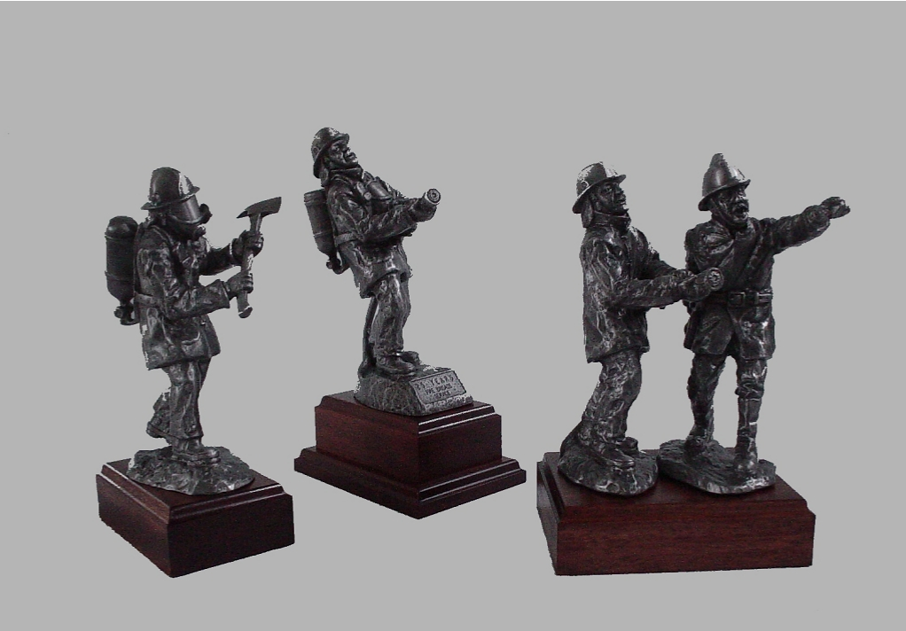 Firefighter figurines